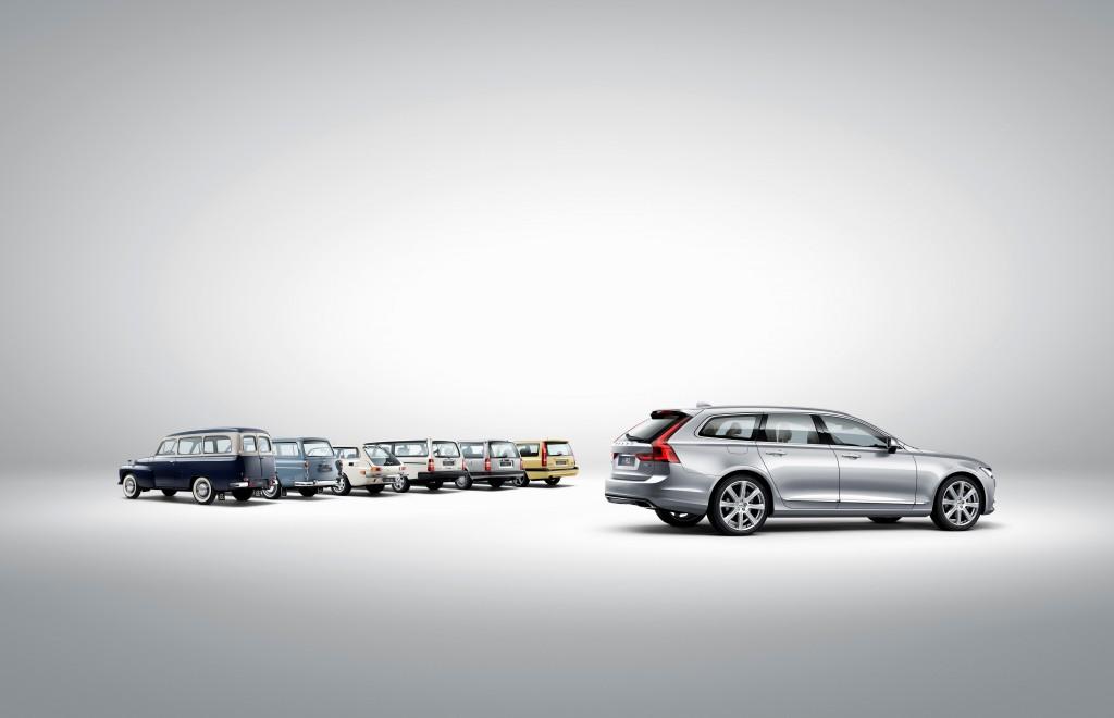 173848_Volvo_V90_and_a_historical_line_up_of_Volvo_estate_models