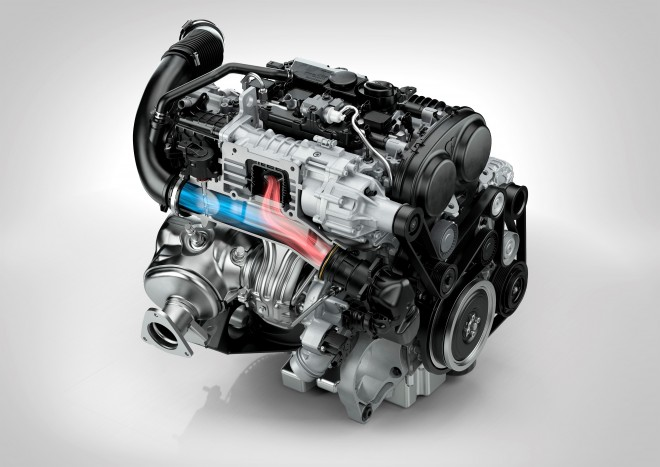 Drive-E 4 cylinder petrol engine - T6 Front