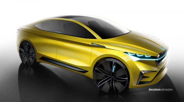 7a2d39425 ŠKODA VISION iV: Konkrétna predzvesť budúceho čisto elektricky poháňaného  vozidla značky a ďalší krok automobilky k eMobilite ...